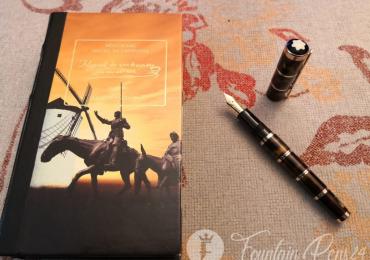 SOLD  !!!        ….MONTBLANC WRITERS EDITION MIGUEL DE CERVANTES Nib F Fountain Pen Estilográfica