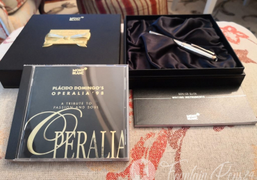 SOLD  !!!        …..Montblanc Meisterstück 75 Years of Passion Solitaire 144 Limited Edition 1924 ud. Fountain Pen Estilográfica