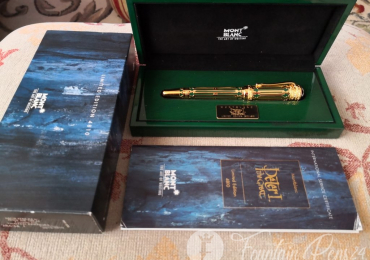 SOLD  !!!  VENDIDO !!!!MONTBLANC PATRON OF ART PETER I GREAT Fountain Pen Estilográfica NEW nib F