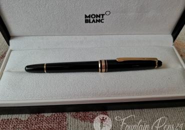 Montblanc Meisterstück classique 144 Ebonite Nib 14K Monocolor vintage Fountain Pen Estilográfica