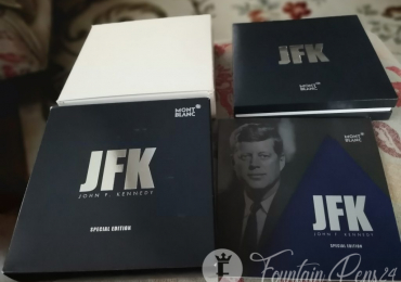 MONTBLANC GREAT CHARACTERS JFK JOhn F. Kennedy Special Edition box and Papers only caja