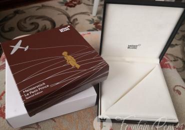 BOX montblanc meisterstuck LE PETIT PRINCE AND AVIATOR Caja