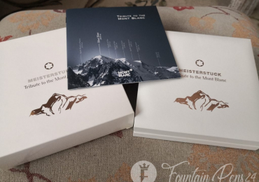 BOX Montblanc meisterstuck TRIBUTE TO THE MONT BLANC Caja