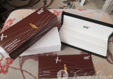 BOX Montblanc meisterstuck LE PETIT PRINCE Special Edition caja