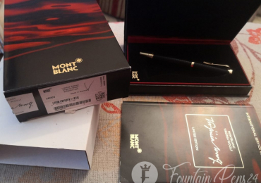 MONTBLANC VIRGINIA WOLF Writers limited edition Fountain pen estilográfica