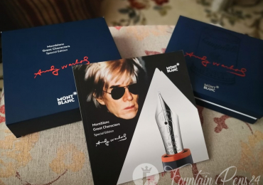 SOLD / VENDIDO       ….Montblanc Andy Warhol only Box and papers edition solo caja