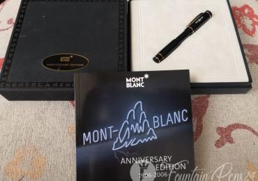 SOLD / VENDIDO ……   MONTBLANC Anniversary 100 Fountain Pen Retráctil estilografica
