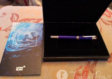 MONTBLANC JULES VERNE writers limited edition fountain pen Estilográfica
