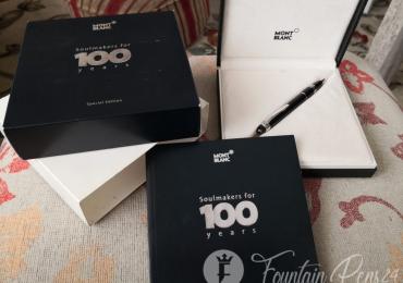 SOLD / VENDIDO……….MONTBLANC DIAMOND STARWALKER SOULMAKERS for 100 Years Ballpoint Pen bolígrafo