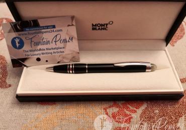 Montblanc Starwalker Resin Black Platinum ballpoint pen bolígrafo