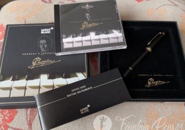 Montblanc Hommage a Frédéric Chopin 145 Classique Fountain Pen Estilográfica