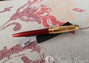 S.T. Dupont Olympio Vertigo Red Laque De Chine/Gold