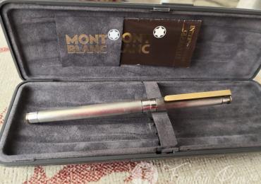 Montblanc Noblesse Sterling Silver Fountain Pen Plata Estilográfica