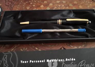 Montblanc Meisterstück classique ballpoint pen bolígrafo NOT USED