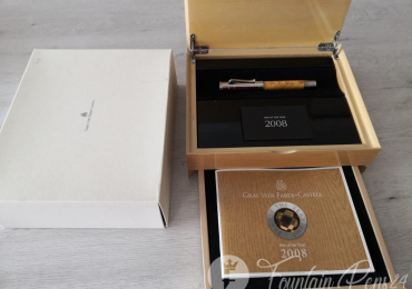 """""""BEST PRICE""""GRAF VON FABER CASTELL YEAR 2008 Fountain Pen Estilográfica Not Used"""