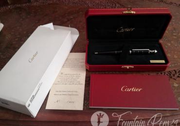 CARTIER Diabolo CINEMA Limited Edition 2008 Ballpoint Pen bolígrafo