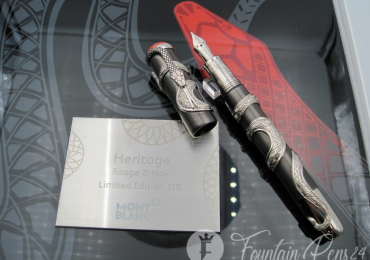 Montblanc The Serpent Heritage Collection Rouge et Noir Limited Edition 110