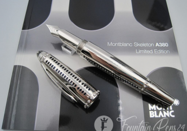 Montblanc Skeleton Airbus A380 Limited Edition 380