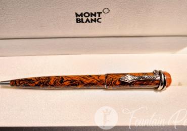 MONTBLANC Heritage Collection Serpent. Rouge et Noir Serpent Marble. ref: 119854Ballpoint pen Boligrafo