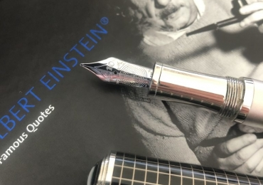 Montblanc Great Characters Limited Edition 2012 Albert Einstein Fountain Pen (0634/3000)