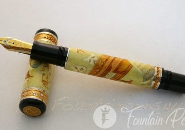 KYNSEY FOUNTAIN PEN 250TH MOZART LIMITED EDITION 05/10