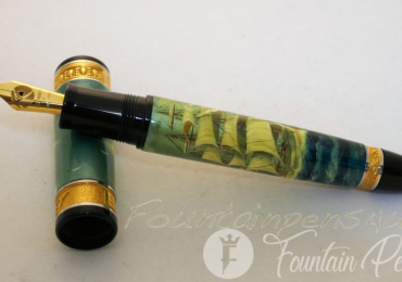 KYNSEY FOUNTAIN PEN FRIGATE LIMITED EDITION 03/10