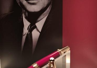 MONTBLANC Grandes Personalidades Edición Especial John F. Kennedy Estilografica burdeos/ Fountain Pen Burgundy