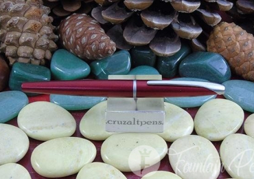 "FOUNTAIN PEN ""CROSS"" ATX CON ESTUCHE ROJA"