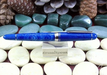 "FOUNTAIN PEN ""DELTA"" VIRTUOSA AZUL"