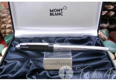 FOUNTAIN PEN MONTBLANC 144 CARBON STEEL