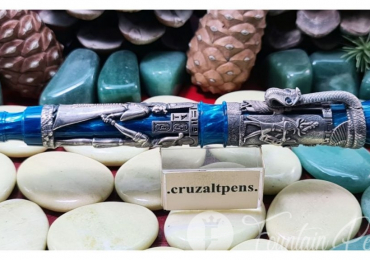FOUNTAIN PEN MONTEGRAPPA LUXOR BLUE LINE
