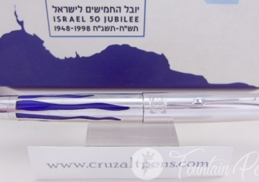"FOUNTAIN PEN OMAS ISRAEL 50 JUBILEE ""LIMITED EDITION"""