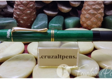 FOUNTAIN PEN PELIKAN 1935 GREEN JADE LIMITED EDITION