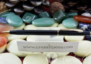 "MECHANICAL PENCIL ""CROSS"" CENTURY EN LACA NEGRA"