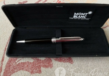 Montblanc Meisterstuck Solitaire Doue Stainless Steel Ballpoint Pen