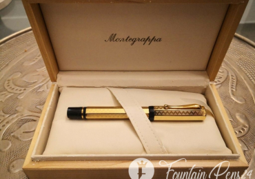 RARE Montegrappa Privilege Special Edition Solid Gold 18k 750. Fountainpen. NOT USED