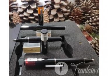 SET DELTA ICON – pluma, roller y bolígrafo
